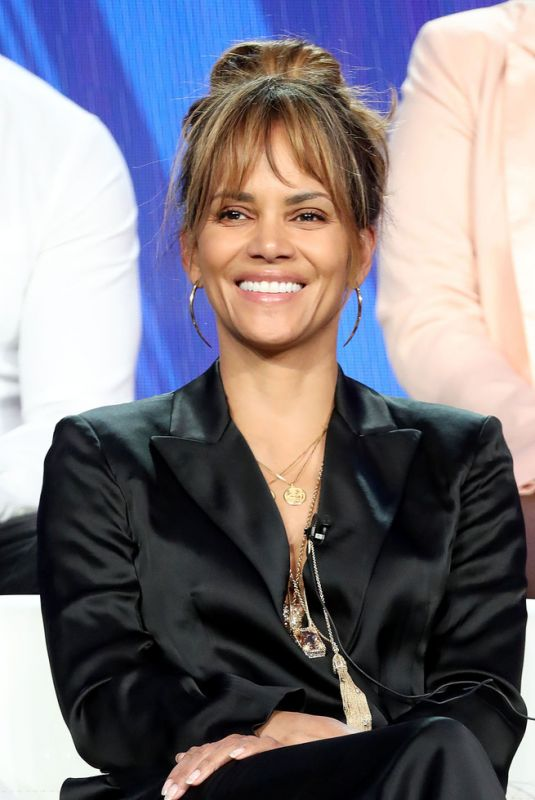 HALLE BERRY at 2019 Hallmark Channel Winter TCA Press Tour 02/09/2019