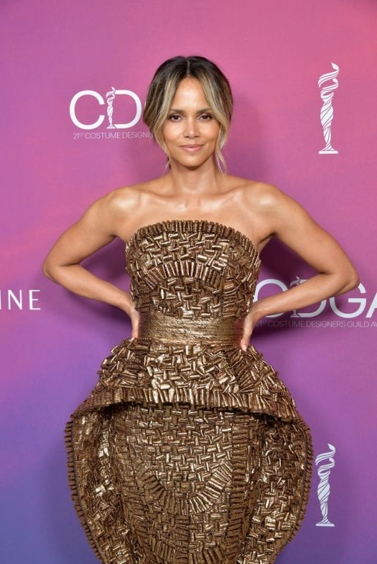 HALLE BERRY at Costume Designers Guild Awards 2019 in Beverly Hills 02/19/2019