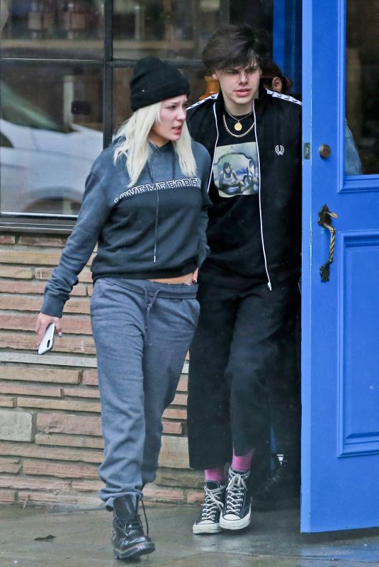 HALSEY and Yungblud Out in Hollywood 02/02/2019