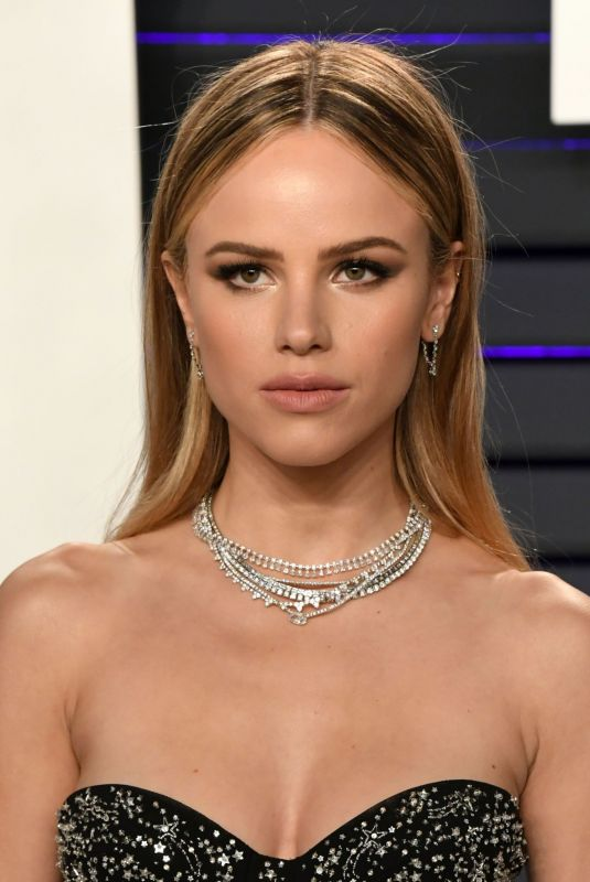HALSTON SAGE at Vanity Fair Oscar Party in Beverly Hills 02/24/2019