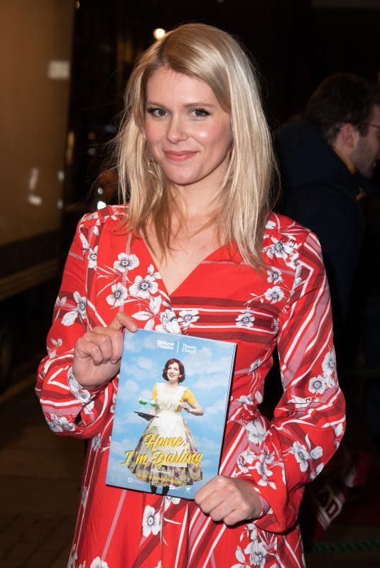 HANNAH ARTERTON at Home, I'm Darling Play Press Night in London 02/05/2019