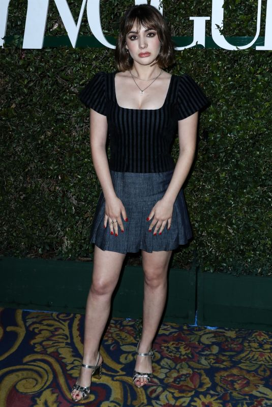HANNAH MARKS at Teen Vogue Young Hollywood Party in Los Angeles 02/15/2019