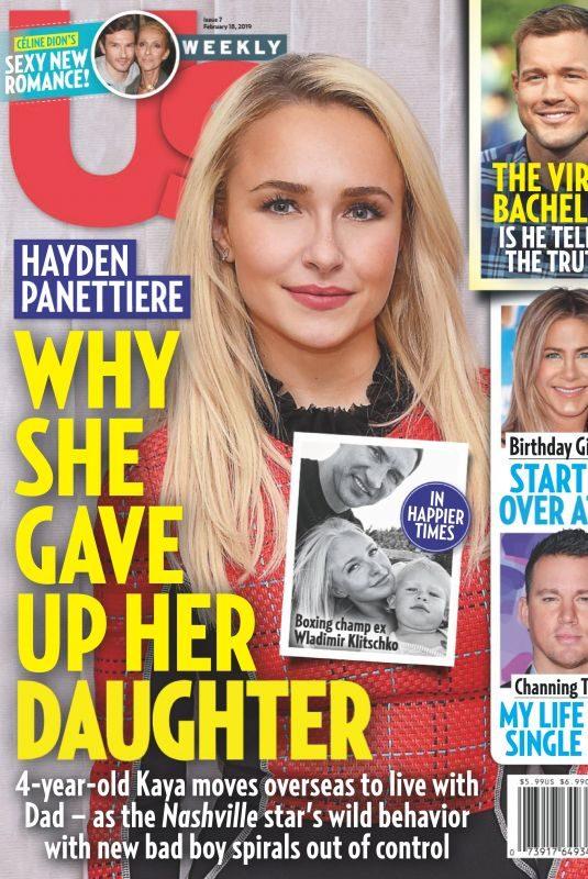 HAYDAN PANETTIERE in US Weekly Magazine, Februry 2019