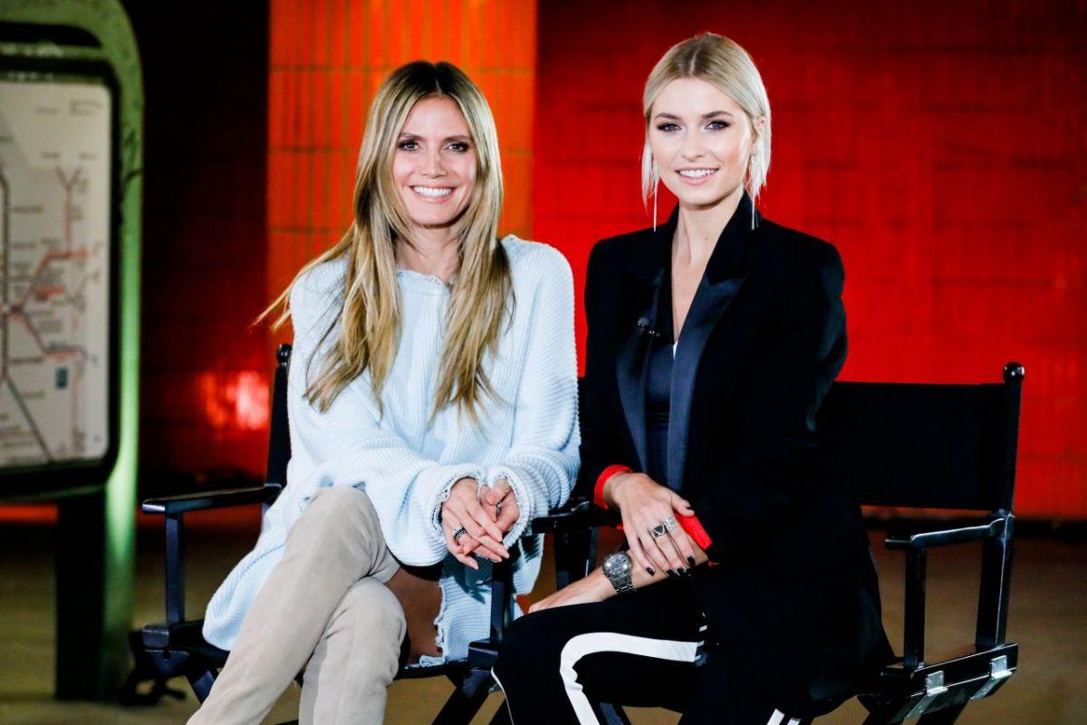 Heidi Klum And Lena Gercke At Germany S Next Topmodel 02 07