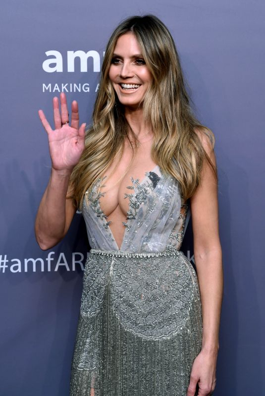 HEIDI KLUM at Amfar New York Gala 2019 02/06/2019