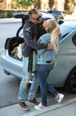 HEIDI MONTAG and Spencer Pratt Out for Lunch in West Hollywood 02/08/2019
