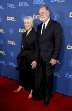HELEN MIRREN at Directors Guild of America Awards in Los Angeles 02/02/2019