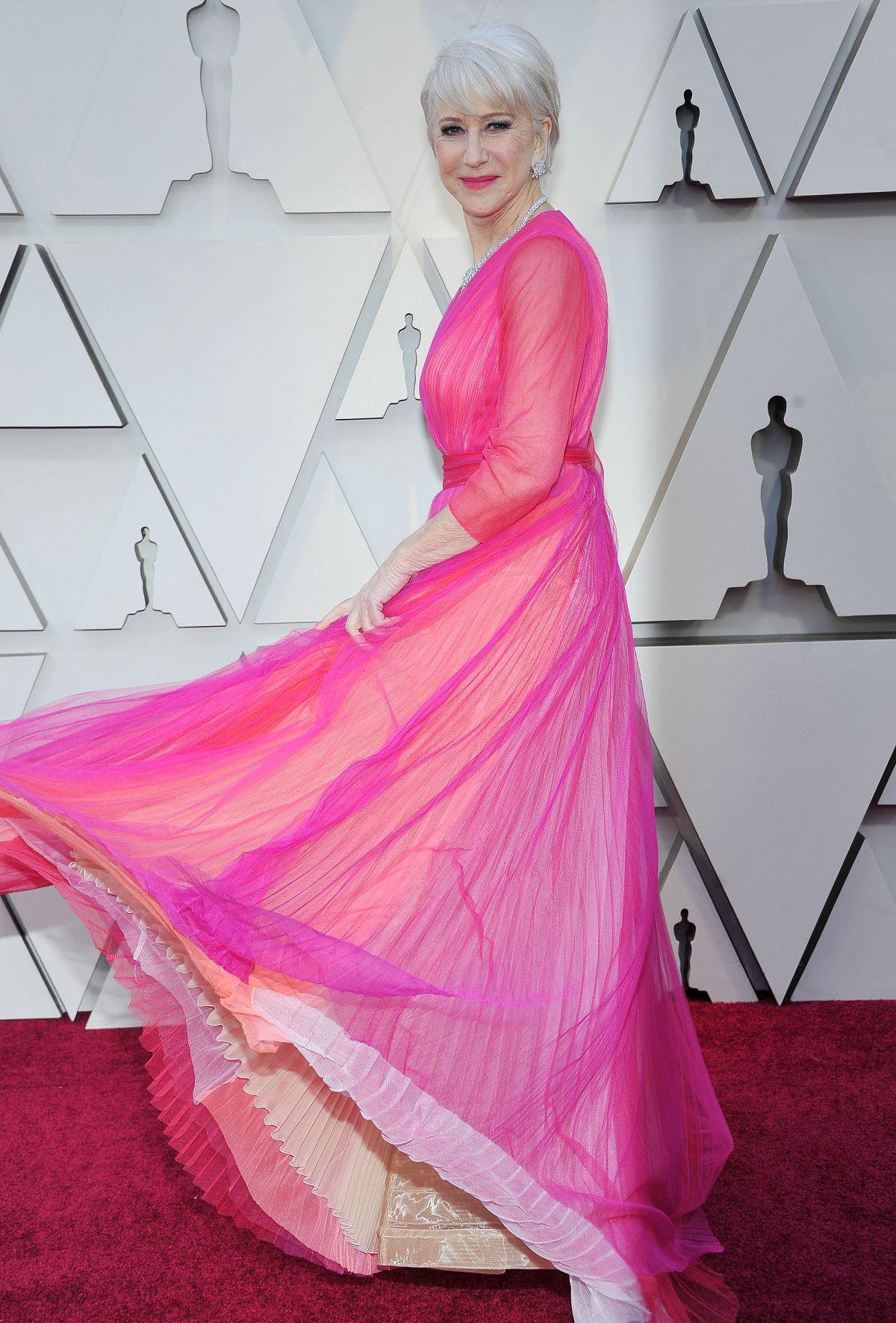 Helen Mirren At Oscars 2019 In Los Angeles 02 24 2019