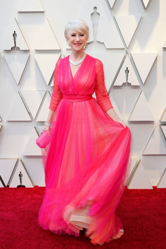 HELEN MIRREN at Oscars 2019 in Los Angeles 02/24/2019