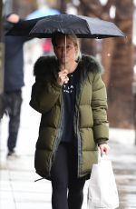 HILARY DUFF Out and About in Studio City 02/03/2019