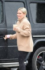 HILARY DUFF Out for Coffee in Los Angeles 02/02/2019