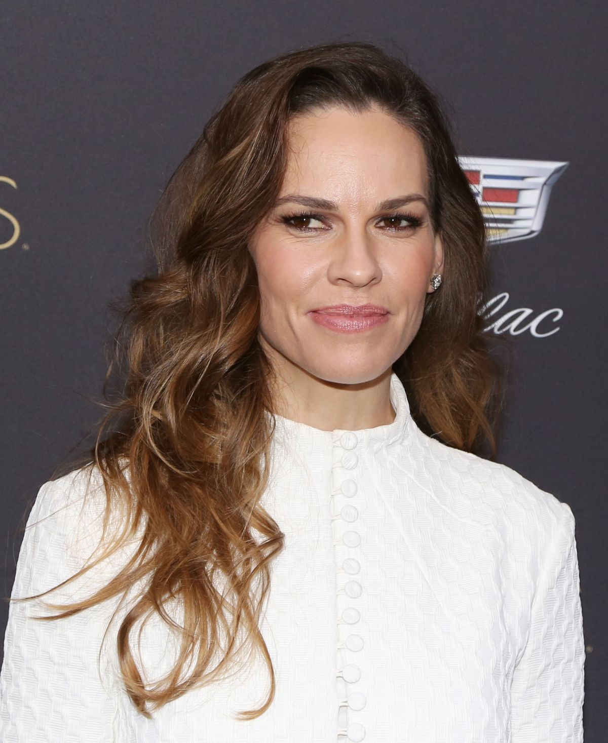 HILARY SWANK at Cadill...