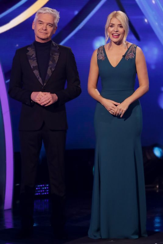 HOLLY WILLOGHBY at Dancing on Ice Show in Hertfordshire 02/17/2019