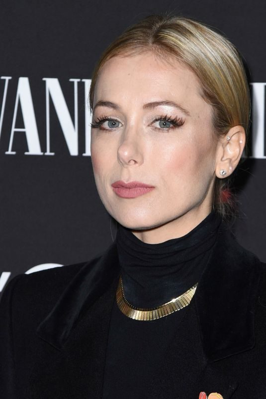 ILIZA SHLESINGER at Vanity Fair & L'Oreal Paris Celebrate New Hollywood in Los Angeles 02/19/2019