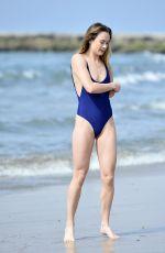 IMOGEN LEAVER in Swimsuit at Venice Beach 02/26/2019