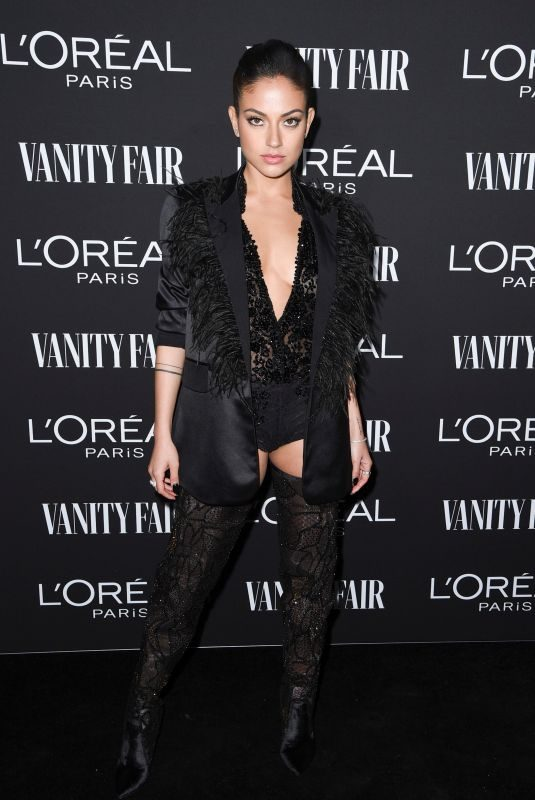INANNA SARKIS at Vanity Fair & L'Oreal Paris Celebrate New Hollywood in Los Angeles 02/19/2019