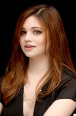 INDIA EISLEY at I Am the Night Press Conference in Beverly Hills 02/07/2019