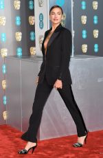 IRINA SHAYK at Bafta Awards 2019 in London 02/10/2019