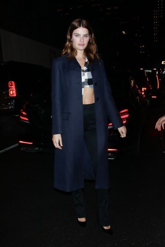 ISABELI FONTANA Night Out in New York 02/08/2019