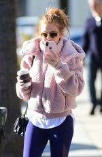 ISLA FISHER Out and About in Los Angeles 02/10/2019