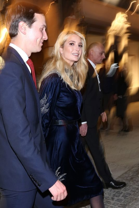IVANKA TRUMP Night Out in Munich 02/15/2019
