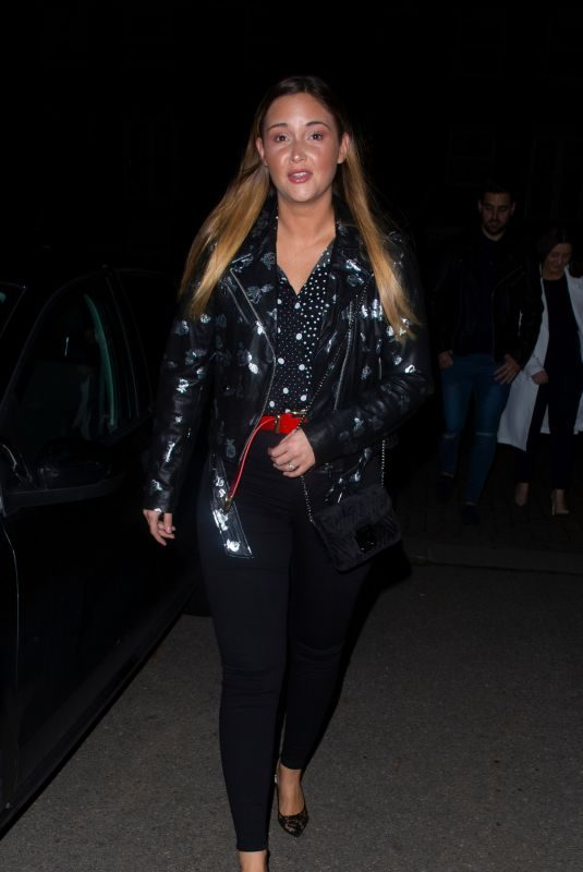 JACQUELINE JOSSA at Sheesh Restaurant in Essex 02/12/2019