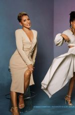 JADA PINKETT SMITH, WILLOW SMITH and ADRIENNE BANFIELD-NORRIS in Essence Magazine, March 2019