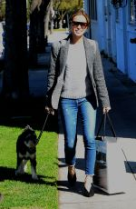 JAMIE CHUNG Out with Her Dog in Beverly Hills 02/06/2019