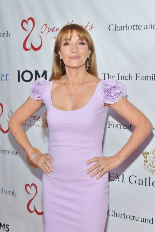 JANE SEYMOUR at 2019 Open Hearts Gala in Beverly Hills 02/16/2019
