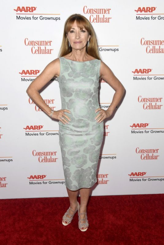 JANE SEYMOUR at Aarp the Magazine's Movies for Grownups Awards in Beverly Hills 02/04/2019