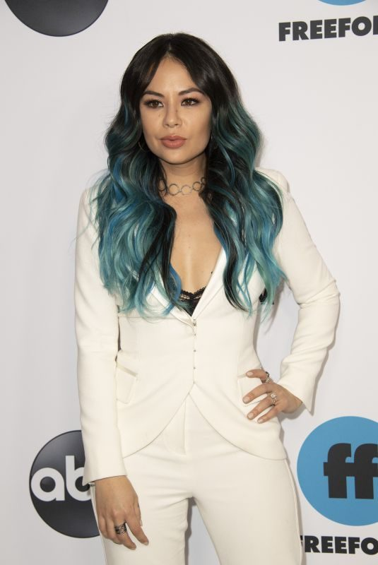JANEL PARRISH at 2019 TCA Winter Press Tour in PAsadena 02/05/2019