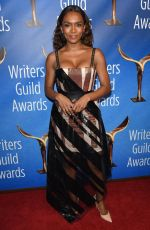 JANET MOCK at Writers Guild Awards in Los Angles 02/17/2019