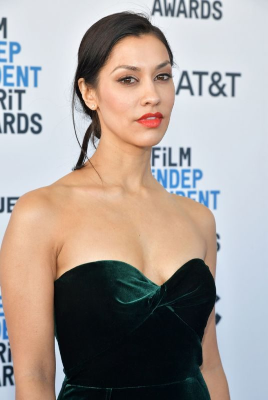 JANINA GAVANKAR at Film Independent Spirit Awards in Santa Monica 02/23/2019