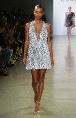 JASMINE TOOKES at Cong Tri Fashion Show at NYFW in New York 02/11/2019