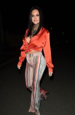 JEMMA LUCY Night Out in Manchester 02/12/2019
