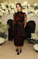 JENNA LOUISE COLEMAN at British Vogue Fashion and Film Bafta Party 02/10/2019