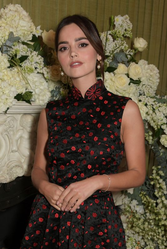 JENNA LOUISE COLEMAN at British Vogue Fashion and Film Bafta Party 02/10/2019