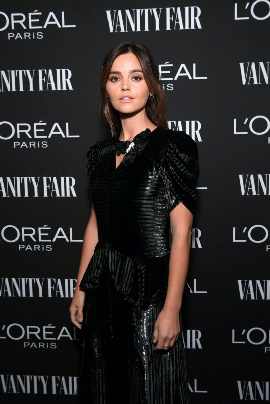 JENNA LOUISE COLEMAN at Vanity Fair & L