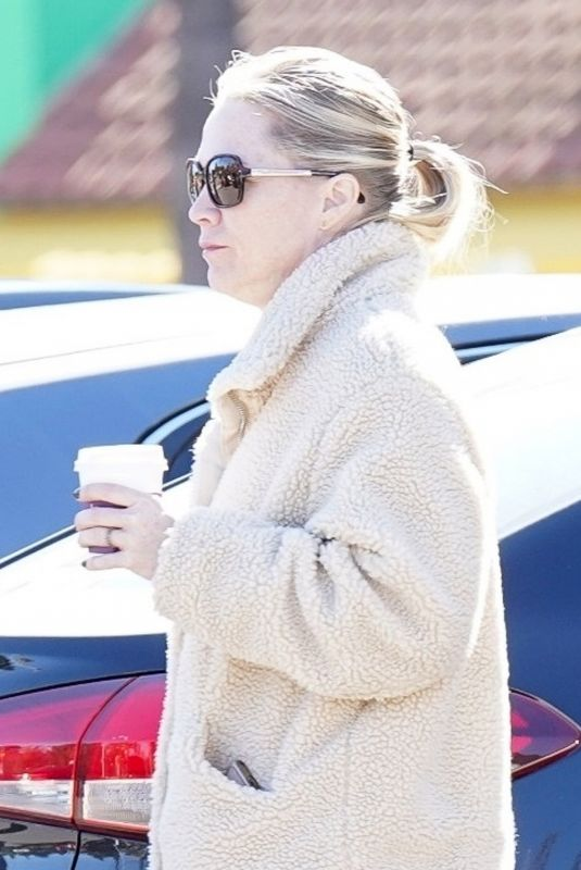 JENNIE GARTH Out for Coffee in Beverly Hills 02/22/2019