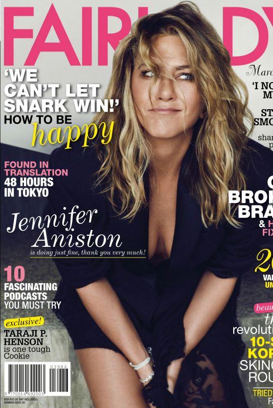 JENNIFER ANISTON in Fairlady Magazine, March 2019