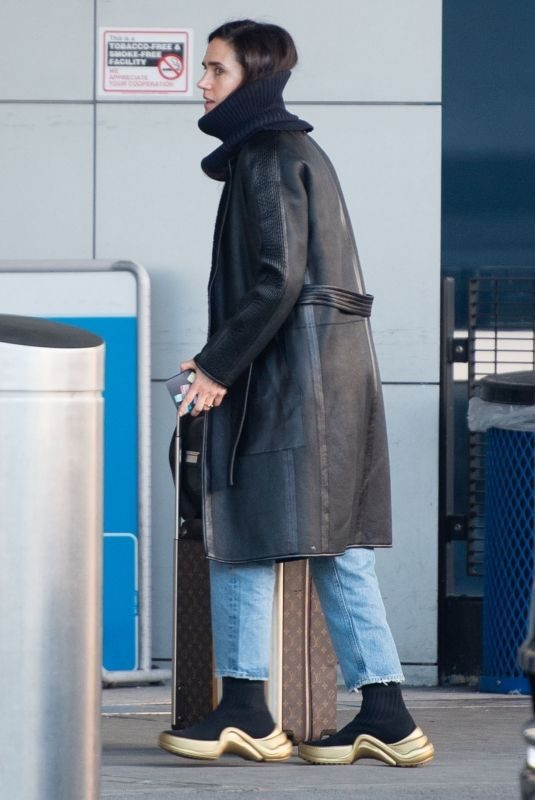 JENNIFER CONNELLY at JFK Airport in New York 02/05/2019