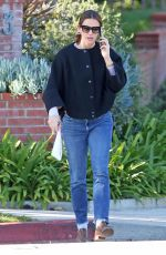 JENNIFER GARNER in denim Out in Los Angeles 02/06/2019