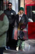 JENNIFER LAWRENCE and Cooke Maroney Out in New York 01/28/2019