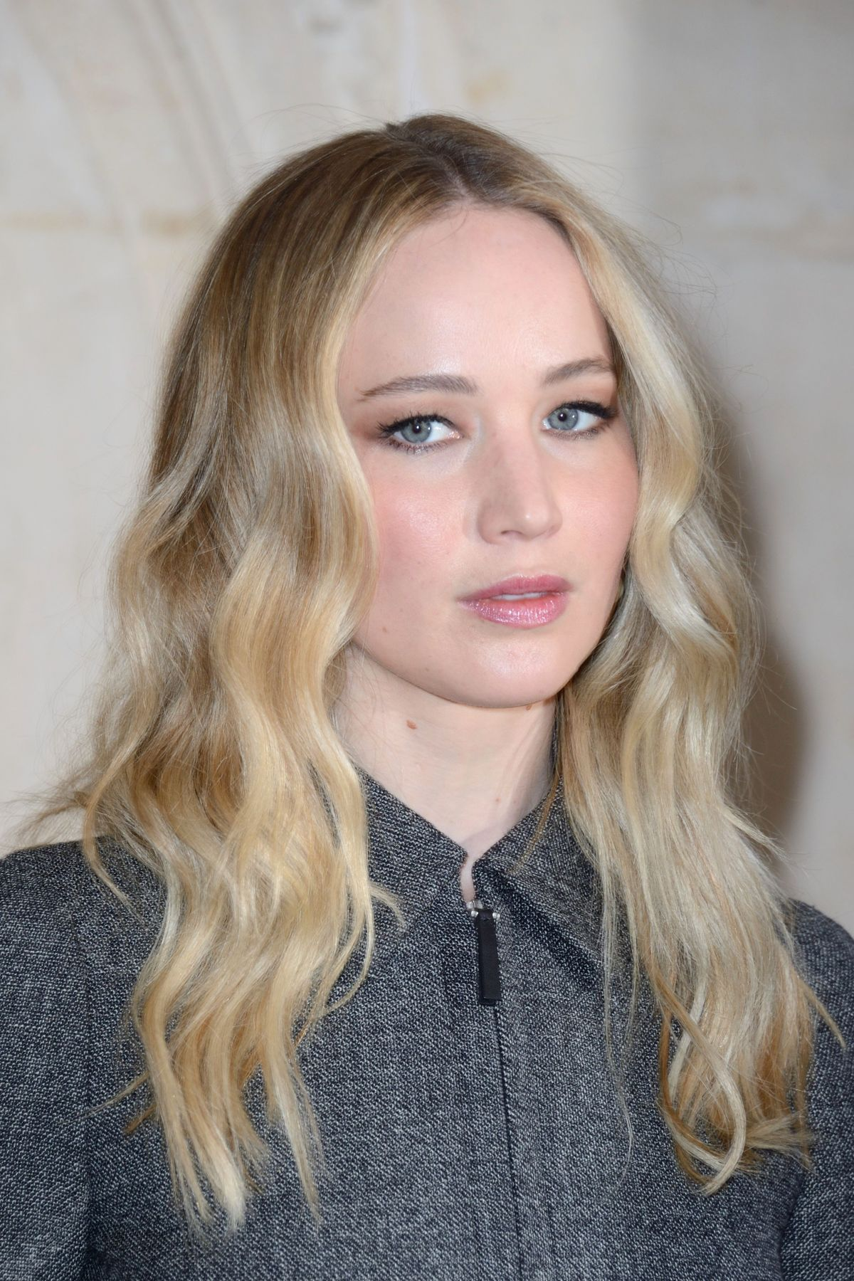 JENNIFER LAWRENCE at Christian Dior Show at Paris Fashion ...