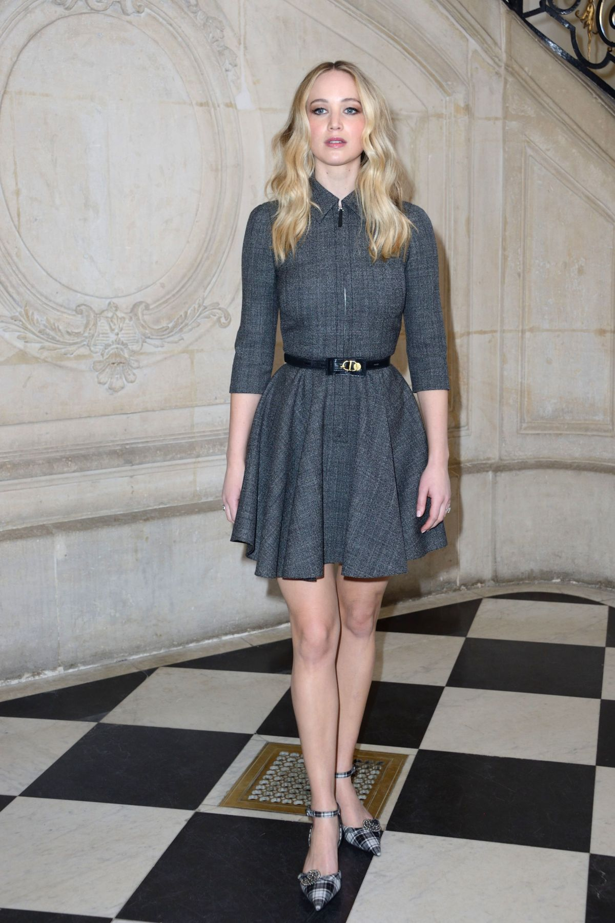JENNIFER LAWRENCE at Christian Dior Show at Paris Fashion ...