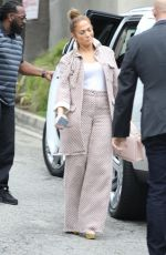 JENNIFER LOPEZ Arrives at Business Meeting in Los Angeles 02/27/2019