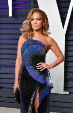 JENNIFER LOPEZ at Vanity Fair Oscar Party in Beverly Hills 02/24/2019
