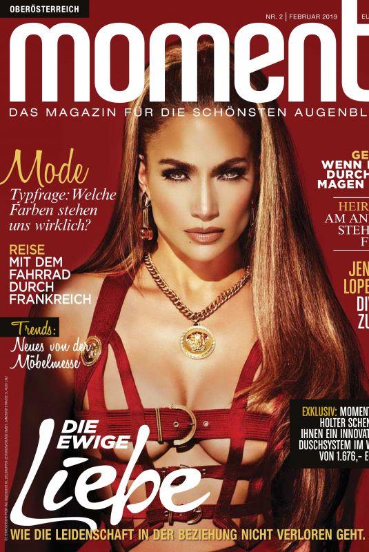 JENNIFER LOPEZ in Moments Magazine, January 2019