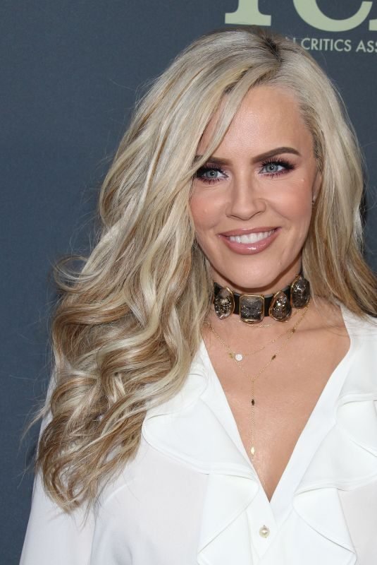 JENNY MCCARTHY at 2019 TCA Winter Tour in Los Angeles 02/06/2019