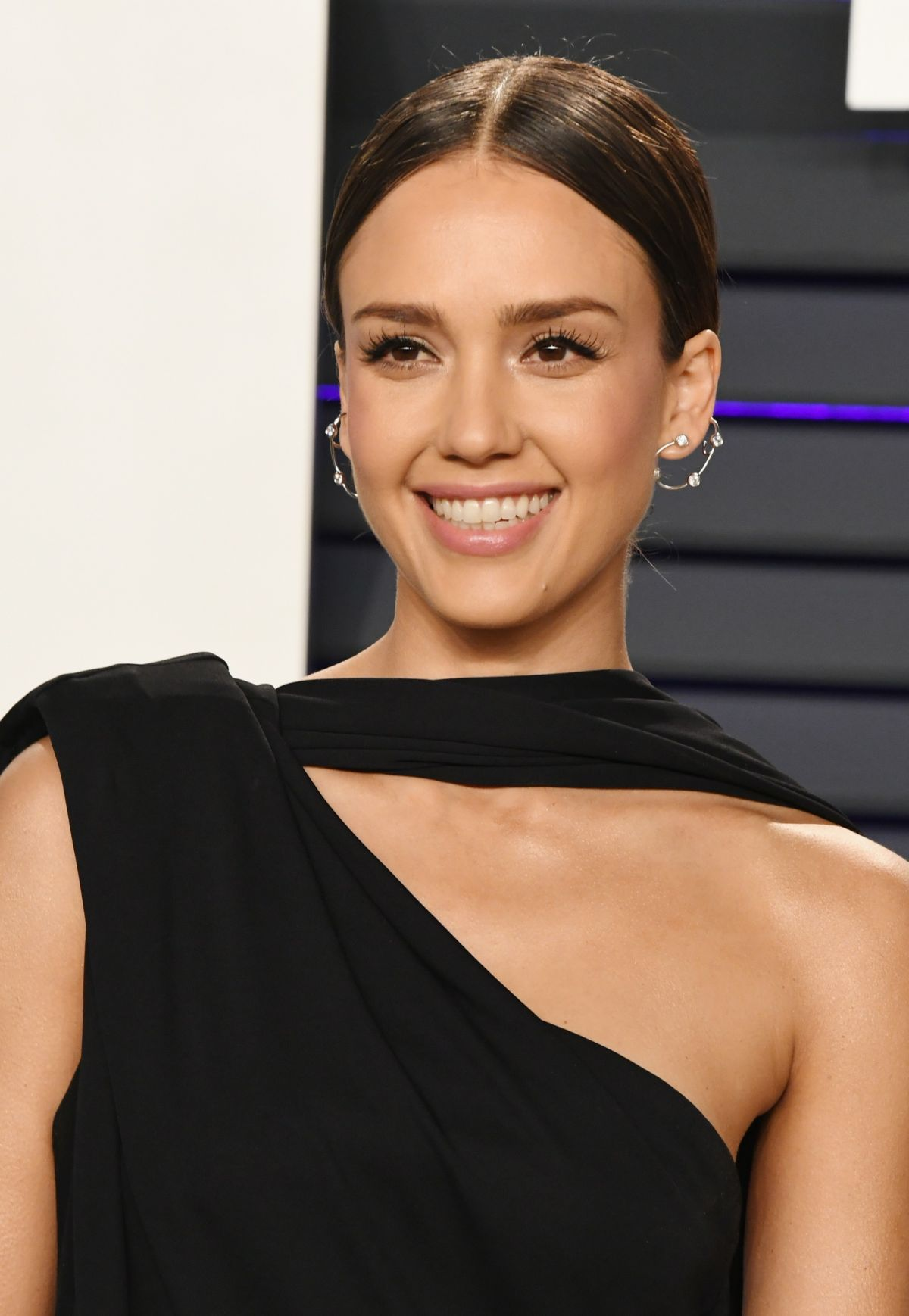 JESSICA ALBA at Vanity Fair Oscar Party in Beverly Hills ...